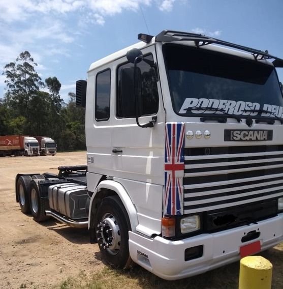 Scania R142 - 6x2 - 1984 - Toda Mecanica Do 113