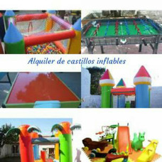 Alquiler Castillos Inflables Y Cama Elastica...