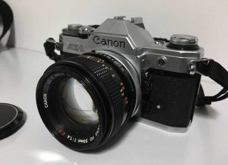 Canon Ae-1 Câmera Analógica 135 (35mm)