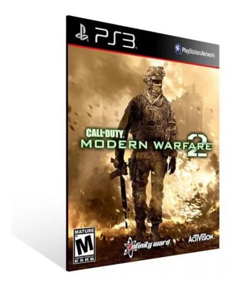 Call Of Duty Mw2 Ps3 Psn Jogo Envio Rápido