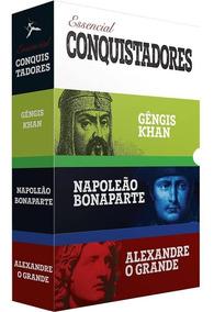 Box - Essencial Conquistadores - 3 Livros