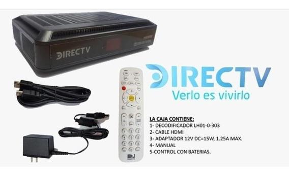 Kit Directv Hd Pre-pago Nvo A Su Nombre Sin Antena
