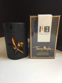 Perfume A Men Pure Malt 100 Ml - Thierry Mugler + Brindes!!