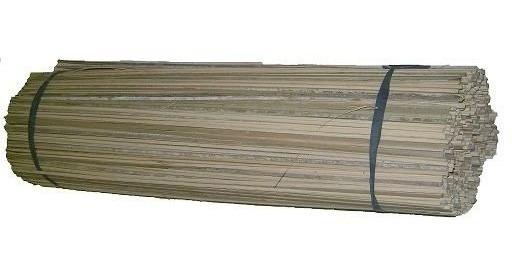 Vareta De Bambu 80 Cm P/pipas Gaiolas Aeromodelos... C/100