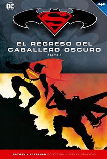 Colección Novelas Salvat Tapas Duras Batman Y Superman Num5