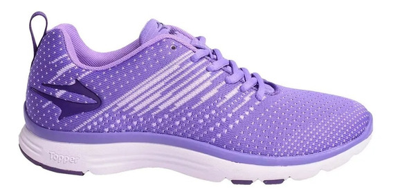 Zapatillas Topper Point Ii W Violeta Aster (2309)