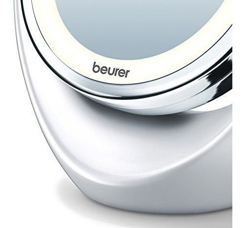 Espejo Aumento Facial Maquillaje Regulable Lucesled Compacto
