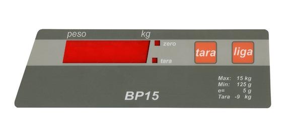 Teclado De Membrana Balança Filizola Bp15 / Bp 15 Marron