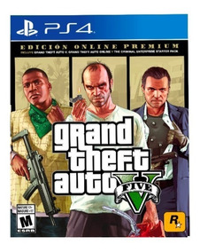 Grand Theft Auto 5 Premium Online Edition Playstation 4