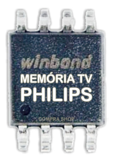 Memoria Flash Tv Philips 39pfl3008d/78 Tela Envision Gravado