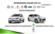 Venta De Repuestos Volkswagen Toyota Ford Jeep Y Kia