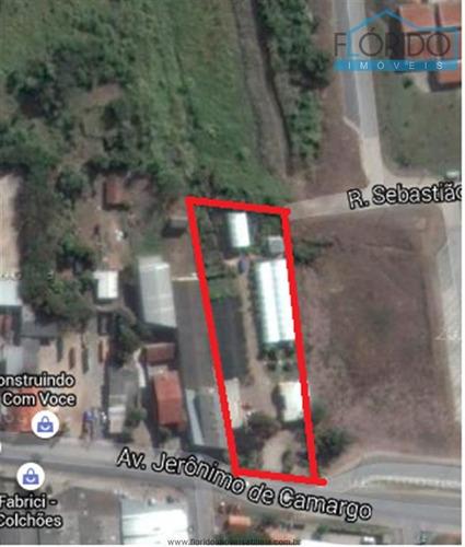 Imagem 1 de 1 de Terrenos Industriais À Venda  Em Atibaia/sp - Compre O Seu Terrenos Industriais Aqui! - 1319294