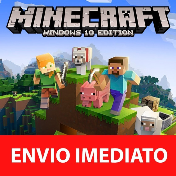 Chave Minecraft Windows 10 Edition Original Pc - Key Oficial