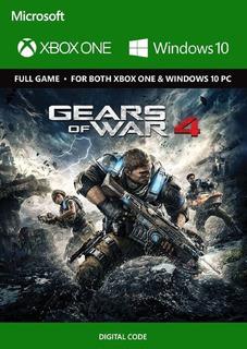 Gears Of War 4 Xbox One / Windows 10 Codigo