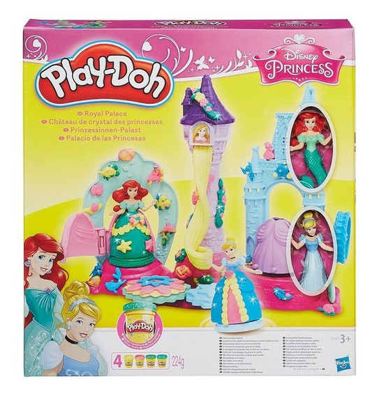 Massinha Modelar Play Doh Princesas Disney É Lavável