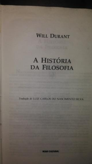 A História Da Filosofia + Heróis Da História - Will Durant
