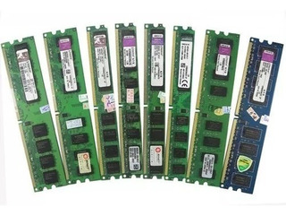 2 Memorias Ram 1gb Ddr2 800mhz Kingston Kvr800d2n5/1g (2gb)