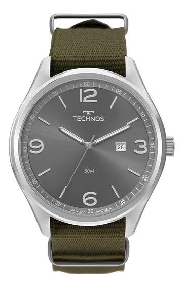 Relógio Technos Masculino Esportivo Nylon 2115mua/8v