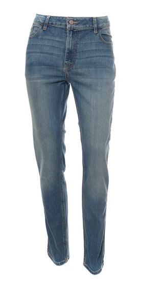 Jeans Corte Slim De Hombre C&a Stretch Básicos