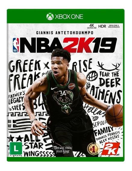 Nba 2k19 - Xbox One - Mídia Física Lacrado