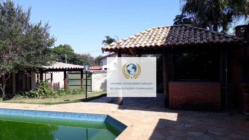 Imagem 1 de 30 de Casa Com 5 Dormitórios, 350 M² - Venda Por R$ 900.000,00 Ou Aluguel Por R$ 4.990,00/mês - Cidade Universitária - Campinas/sp - Ca1412