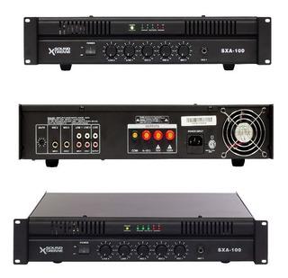 Amplificador Para Música Funcional Entradas De Mic Y Pc