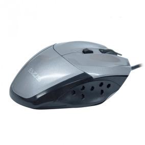 Mouse Óptico Gamer Evus Precision Cinza Usb 1.600dpi Modelo