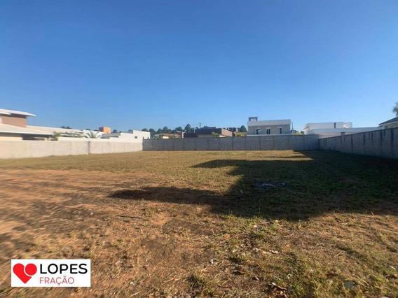 Terreno 100% Plano Em Condomínio Fechado - Atibaia - Te0072