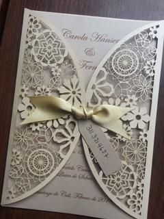 Tarjeta De Matrimonio Calada - Invitacion De Matrimonio