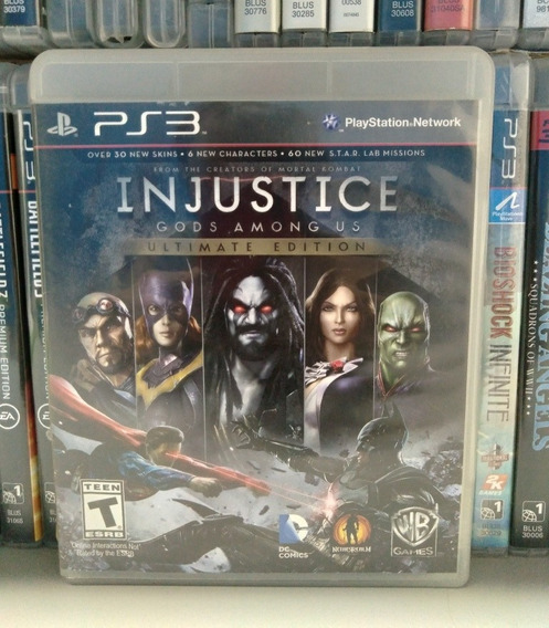 Injustice Ultimate Edition Ps3 Completo Parcelam. Sem Juros