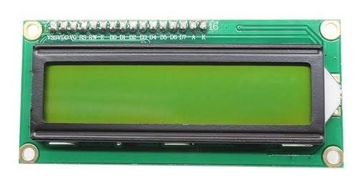 10x Tela Display Lcd 16x2 1602a Backlight Azul