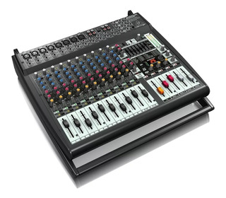 Mix. Pot. Behringer Europ. Pmp-4000 16 Ch 1600w Envío Gratis
