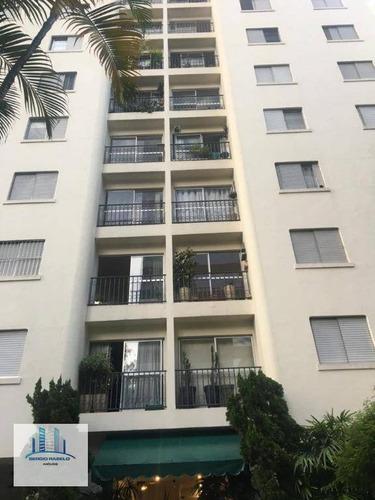 Imagem 1 de 21 de Apartamento Com 3 Dormitórios À Venda, 80 M² Por R$ 750.000,00 - Vila Olímpia - São Paulo/sp - Ap3847
