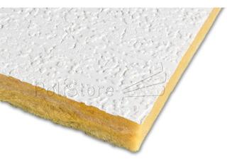 Placa Andina Rustico Cielorraso Desmontable Isover 0.61x1.22