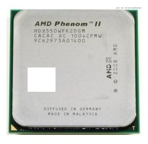 Processador Amd 550 Phenom X2 Am2/ Am3+ Frete Gratis