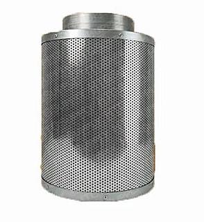 Kit De Ventilador Filtro Carbon Para Cultivo Hidroponia 6¨