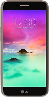 Smartphone LG K10 Titán (2017) | Diseño Curvo
