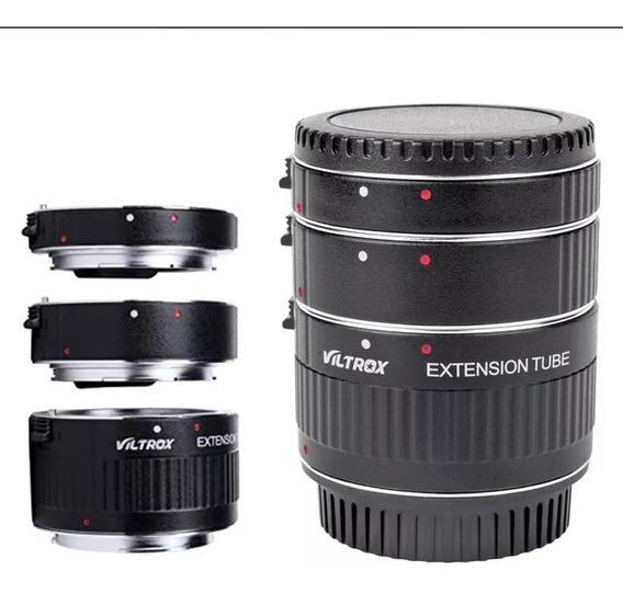 Tubo Macro Extensor Para Canon Marca Viltrox Com Autofoco