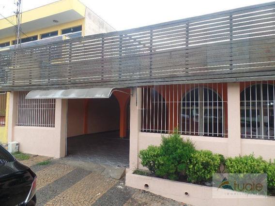 Casa Comercial Para Venda E Locação, Jardim Alvorada, Sumaré - Ca5196. - Ca5196