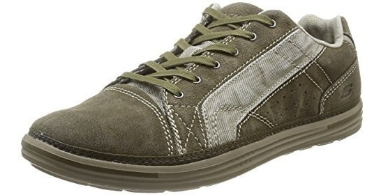 Tênis/sapato Skechers Landen Buford 64352 Azul Ou Verde