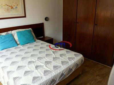 Flat Com 1 Dormitório Para Alugar, 52 M² Por R$ 2.800/mês - Centro - São Bernardo Do Campo/sp - Fl0004