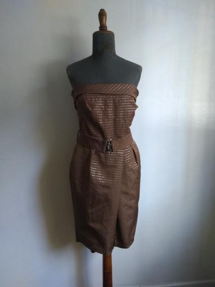 Vestido Zara Marron