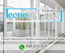 Vidrieria,aberturas En Alumino, Mamparas, Blindex, Espejos,
