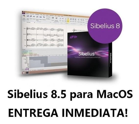 Sibelius 8 Para Mac! Entrega Inmediata!! Composicion Musical