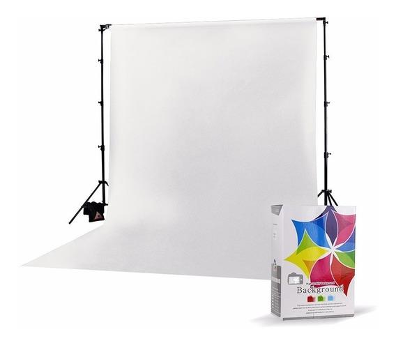 Fundo Infinito Fotográfico 3x6m - Branco