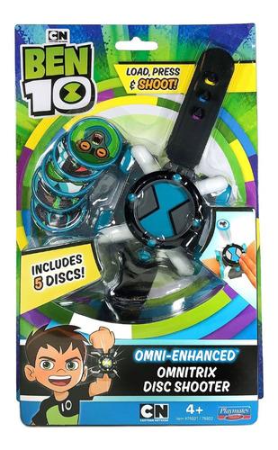 Reloj Lanza Discos Omnitrix Ben 10.