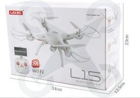 Drone Lidirc Câmera 720p Fpv Ao Vivo - Superior Ao Syma X5