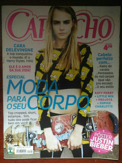 Revista Capricho Capa Cara Delevingne - N° 1187