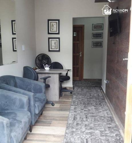 Sala Para Alugar, 40 M² Por R$ 1.000,00/mês - Boqueirão - Praia Grande/sp - Sa0048