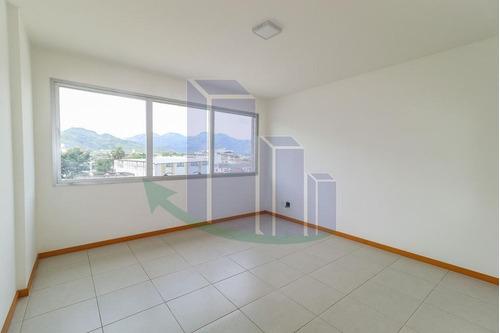 Imagem 1 de 11 de Sala Comercial/nova Para Venda Em Rio De Janeiro, Campo Grande, 1 Banheiro - Sa17435_2-1141379